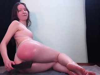 Hot and Oiled Up Anal Play - Teaser